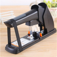 Deli Stationery Thick Layer Deli 0383 Heavy Duty Manual Jumbo Stapler Large Thickening Effortless Heavy Duty