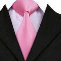 SN-401 New Style Solid Tie Men's 100% Jacquard Woven Neckties Handkerchief Cufflinks Set for Men's Formal Wedding Party Groom 1
