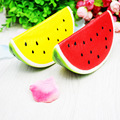 10pcs Watermelon 14cm Jumbo Squishy Slow Rising Phone/Bags Charm Strap Fruit Decoration Squeeze Toys Kids Gifts Wholesale