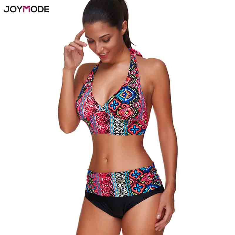 JOYMODE Hot Swim wear Women Push Up Brazlian Bikini Pad Swim Swim suit Crochet Beach Bikini Sexy Swim Suit For Women strappy cross back crochet cover up swim dress