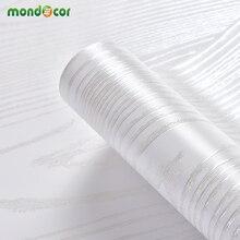 Ahşap tahıl kendinden yapışkanlı duvar kağıdı dolap kabuğu ve sopa duvar çıkartmaları ev dekor su geçirmez mobilya dolap yapışkan kağıt