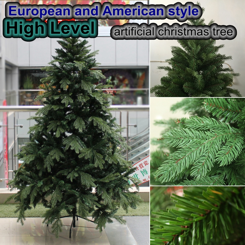US-Euro Style 2.1Meters High Grade Artificial Christmas Tree Christmas Holiday Commodities Christmas necessities Fake Pinetree