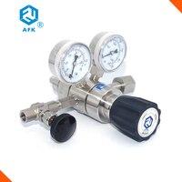 R31 regulador de pressão de ar de estágio duplo 1/4 npt com válvula de agulha