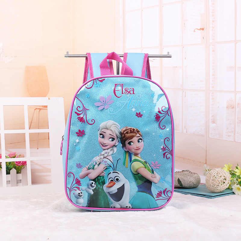fc8f88ec3ea1 Disney мультфильм принцесса дети рюкзак в детский сад сумка изображением  Эльзы из мультфильма «Холодное сердце