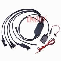 Neue art 5 in 1 Multi-utility universelle walkie talkie auto radio GP328 GP328plus GM338 GM300 GP300 CP040 programmierung kabel