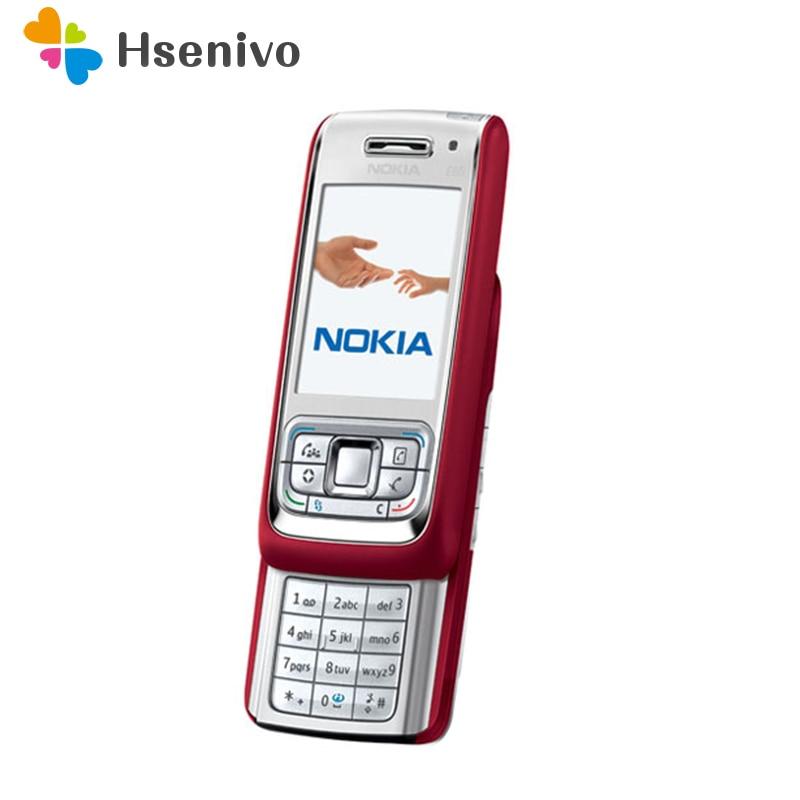 E65 Refurbished Handy Nokia E65 setzte ursprüngliches Telefon Gsm-Handy Quadband 3G-Handy frei Freies Verschiffen