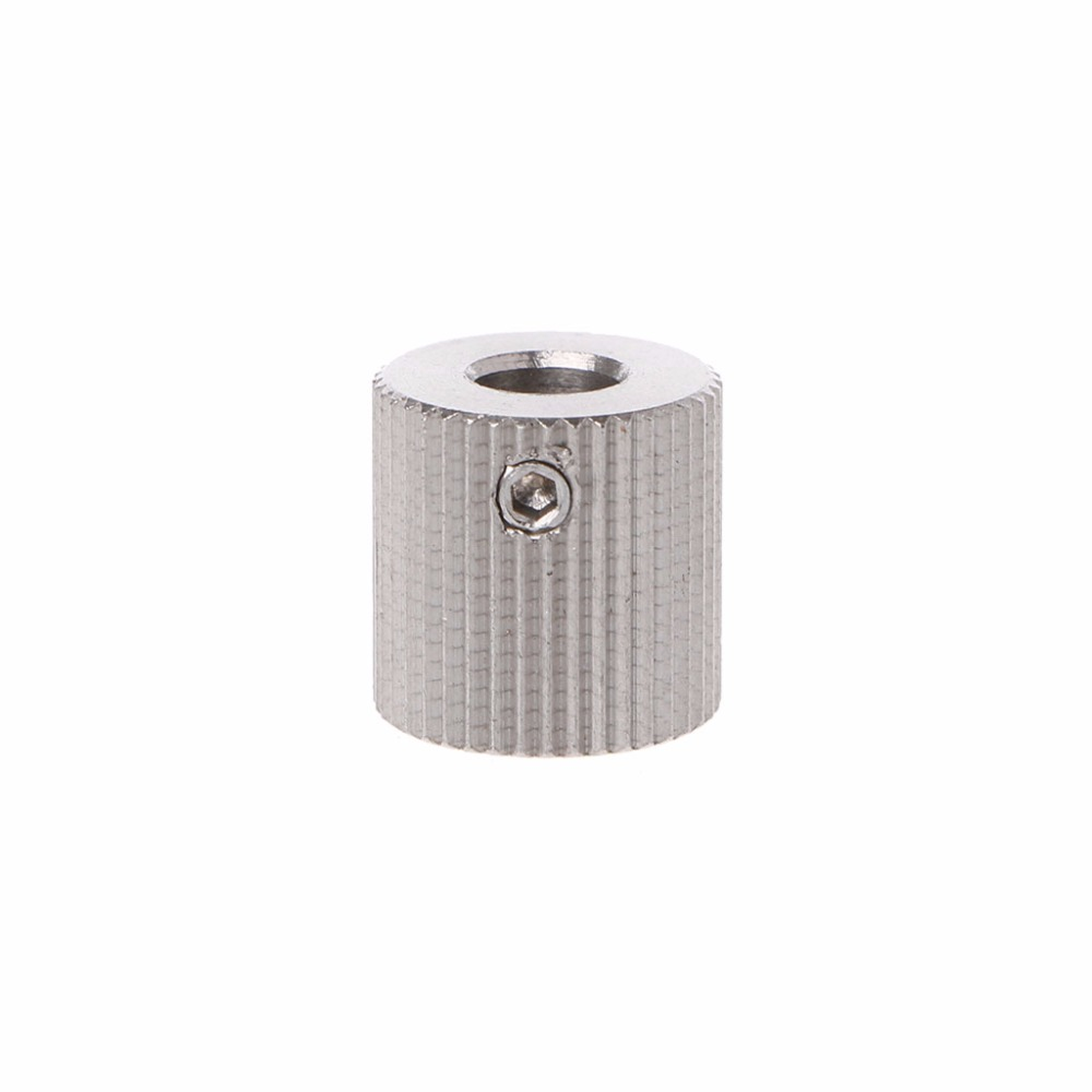 1pc Stainless Steel Extruder Feeder Driver Gear 40T Bore 5mm For Makerbot MK7 MK8 for 3D Printers Parts Accessories C26