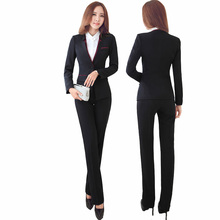 Suit Jacket with Office Pants or Skirt Work Wear Set
