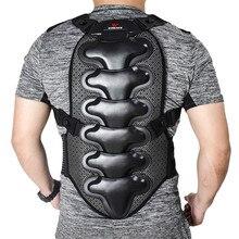 WOSAWE Sports Spine Back Support Off Shoulder EVA Pad Belt Snowboard Ski Motorcycle Motocross Protective Gear Back Protector