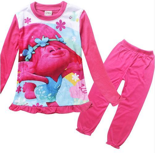 Girls Pajamas Home Clothes Sets 2017 grils pajamas children pajamas Christmas childrens pajamas childrens clothing sets