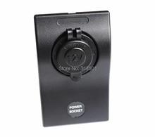 Good Quality Waterproof Power Outlet Socket Panel Marine/Boat/RV 15A Breakers DC 12V/24V