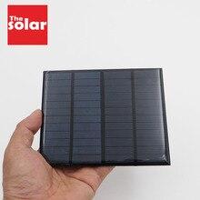 Panneau solaire 12V 1.5 W 1.9W cellules solaires Standard époxy polycristallin silicium bricolage voiture RV Batteries Mini chargeur de batterie solaire