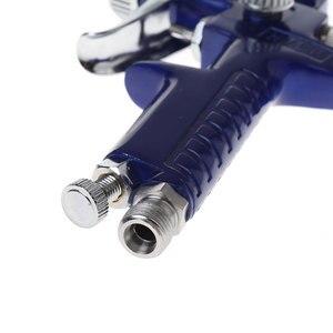 Image 5 - 1mm Mini HVLP Air Paint Spray Gun Auto Car Detail Touch Up Sprayer Gravity Repair