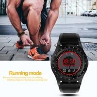 led music LIGE Smart Watch Men LED Sport Smart Clock activity Tracker Mobile Phone Reminder Music Player Smart Watch Support SIM card (2)