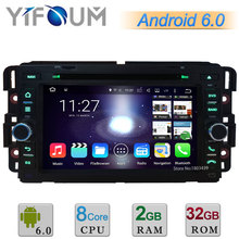 Android 6.0 Octa Core 2GB RAM 32GB ROM Car DVD Player Radio Stereo GPS For Chevrolet Express Traverse Tahoe Suburban HHR Equinox