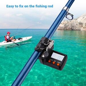 Цифровой счетчик лески 999 м рыболовная леска contador de linha de pesca peche a la carpe рыболовные инструменты для ловли карпа