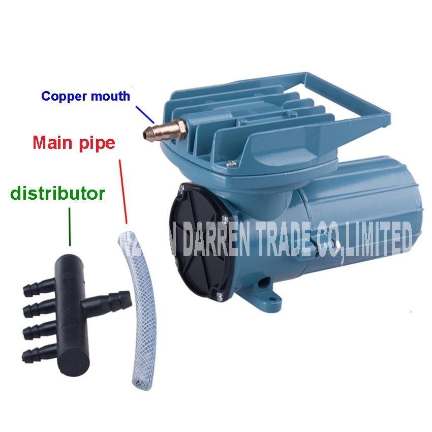Resun MPQ-906 120 W pompf DC compresseur d'air pompe 12 V Air pour Aquarium voiture pompe à oxygène 69L/min