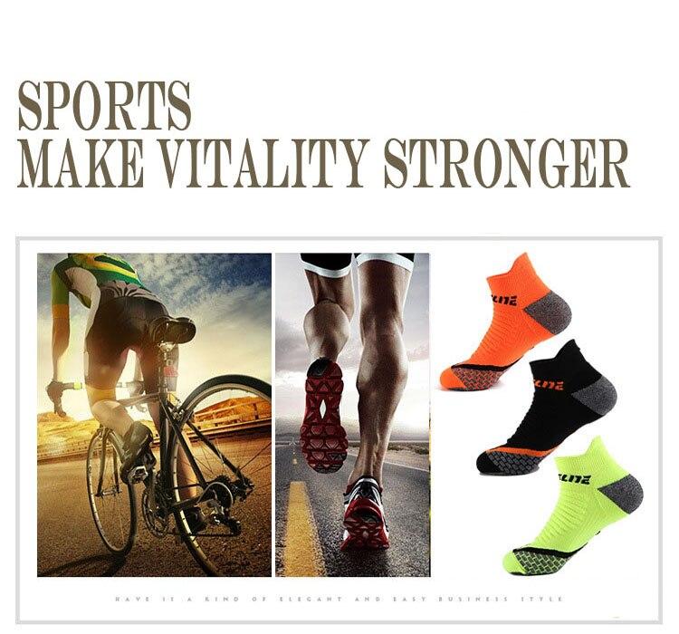 dos homens desgastar-resistente absorção leve tornozelo meias