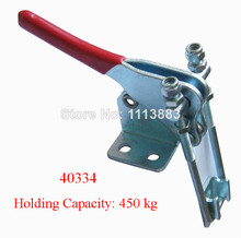 5PCS Quick Holding Latch Type Toggle Clamp 40334 Holding Capacity 450KG 992LBS 5pc adjustable toggle clamp pull action latch hand 100kg 220lbs holding capacity