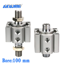 Double-headed SDAD100X5X10X15X20X25X30X35X40X45X50X75-B double-out thin cylinder SDAD