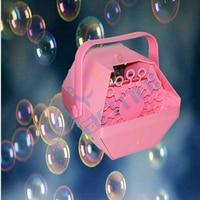 Portable Electric Bubble Machine Dj Event Party Bubble Effect Fixture Auto Blowing Bubbles For Wedding Band Show