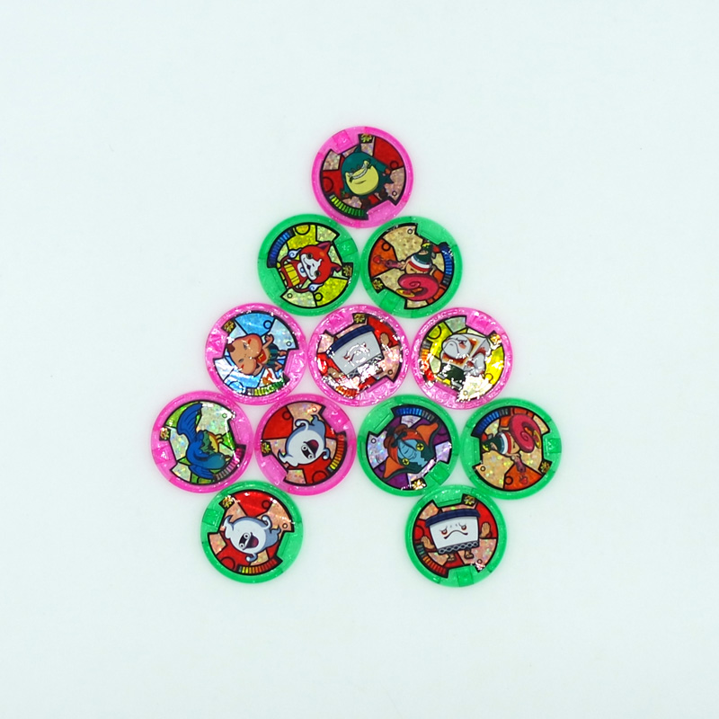 Image 2 - Japanese Anime Yokai Watch DX Peripheral  Yo Kai Wrist Watch Medals Collection Emblem Toy-in Action & Toy Figures from Toys & Hobbies