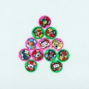 Image 2 - Japońskie Anime Yokai zegarek DX peryferyjne yo kai zegarek na rękę medale kolekcja godło zabawka
