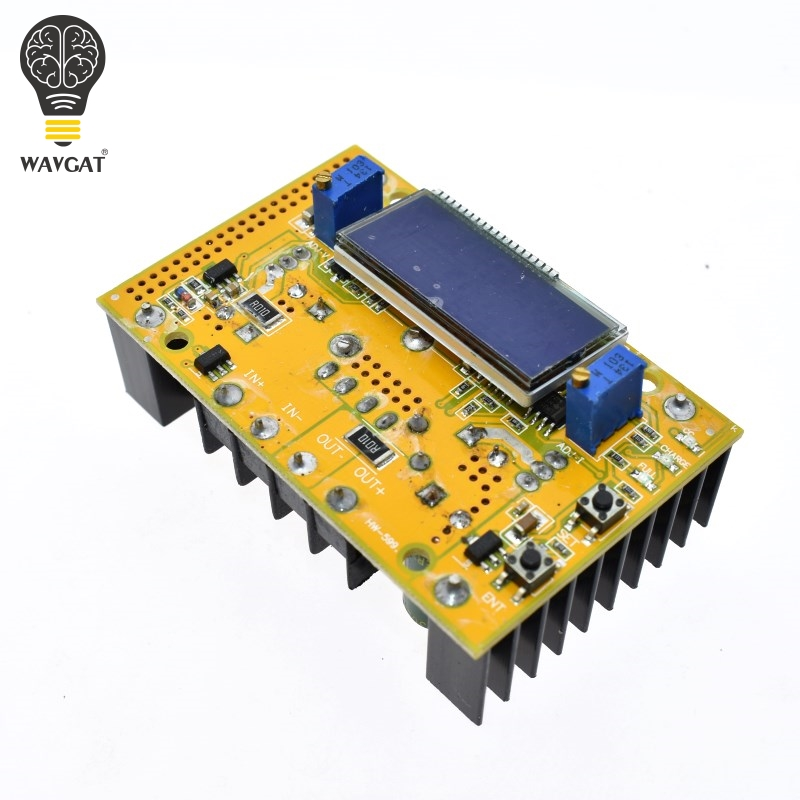 10A DC-DC Adjustable LCD Dual Display CC CV Step-down Power Supply Module Short Circuit Protection Case DC-DC Boost Converter10A DC-DC Adjustable LCD Dual Display CC CV Step-down Power Supply Module Short Circuit Protection Case DC-DC Boost Converter