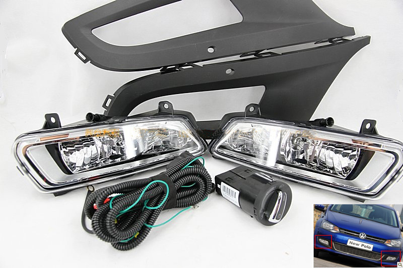 car-styling,POLO halogen light,2005~2009/2011~2013Free ship!2pcs,POLO fog light;car-covers,Chrome,POLO headlight,car-covers,POLO nv200 fog light 2009 2015 2pcs nv200 halogen light free ship nv200 headlight nv 200