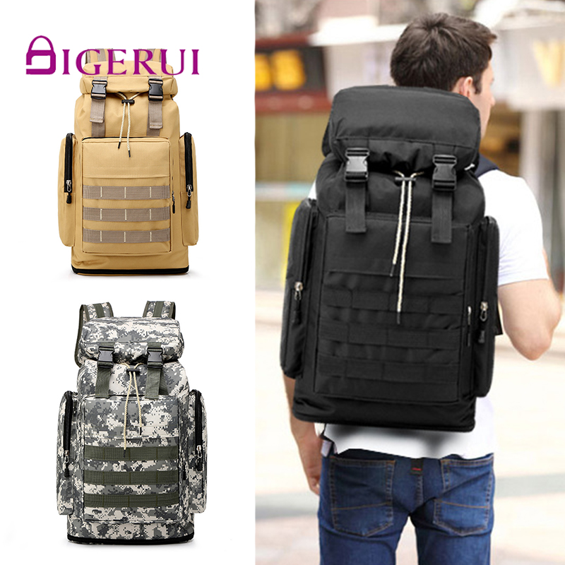 DIGERUI Package Military-Mochila Work-Luggage Mountaineer Travel Waterproof Large Outdoors title=