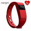 Controle remoto da câmera do monitor de freqüência cardíaca inteligente pulseira id111 call/msn lembrete inteligente pulseira pk mi band2
