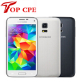 "Original Unlocked Samsung Galaxy S5 mini G800F Mobile phone 4.5"" Android Quad Core 1.5 RAM 16GB ROM 8.0MP Refurbished"
