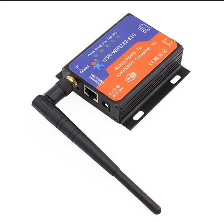 2 piece USR WIFI232 610 Serial RS232 RS485 to Wifi 802 11 b g n Ethernet