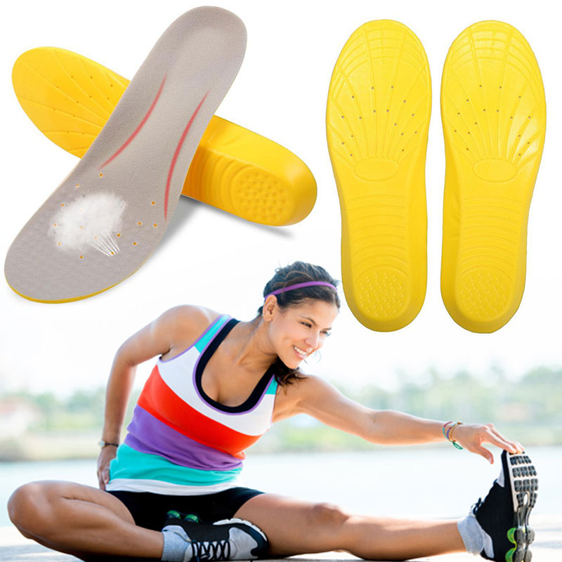 Soft Inner Pad Memory Foam EVA Breathable Insert Anti-Arthritis Memory Foam Sport Shoe Insoles Unisex Insoles Running Foot Care