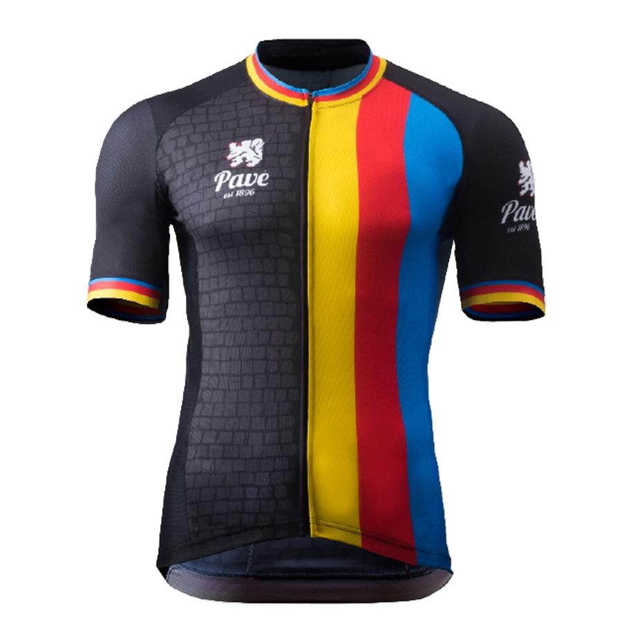 Prix pour 2016 Belgique Flandre cyclisme jersey À manches Courtes vélo vêtements hommes vêtements de cyclisme ropa ciclismo maillot