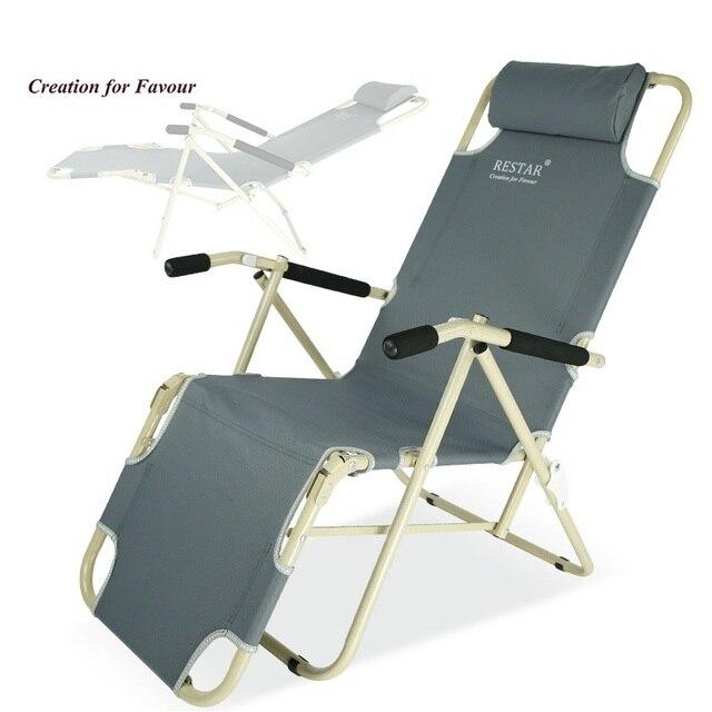 RESTAR Rui Shida High Quality Folding Chair Recliner Chairs Office Lunch  Siesta Chair Single Lounge Chair