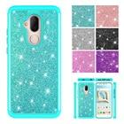 Phone Cases for Alcatel 7 (2018) Case Glitter Crystal Sequins Dual Layer Cover for Alcatel Revvl 2 Plus (2018) / Alcatel 7 Folio