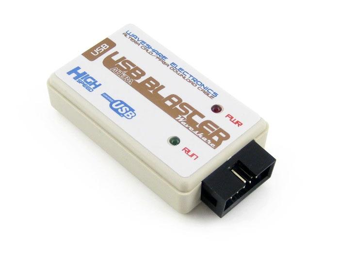 module USB Blaster V2 Download Cable ALTERA FPGA CPLD USB Blaster Programmer Debugger for Altera Cyclone from Waveshare Freeship module xilinx xc3s500e spartan 3e fpga development evaluation board lcd1602 lcd12864 12 module open3s500e package b
