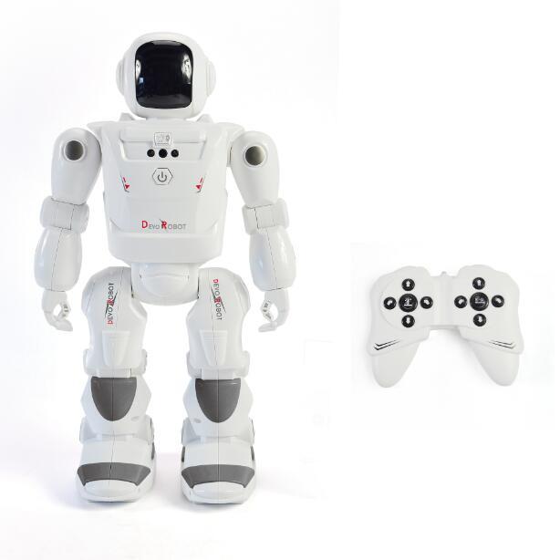 Robot de détection de geste à distance RC leader Robot intelligent contrôle de mouvement Actions programmables sons de lumière du visage jouets RC