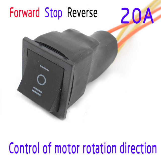 Control of motor rotation direction switch dc motor for Motor forward and reverse direction control using plc