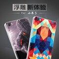 Mi5 крышка батарейного отсека Мультфильм окрашенные рельефы задняя крышка Для xiaomi mi 5 m5