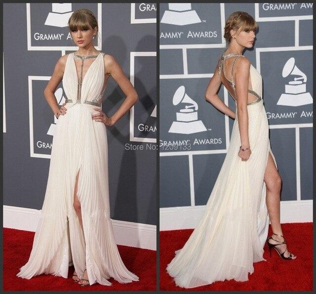 Red Carpet Backless Dresses