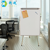 XINDI New Dry Eraser White Board Tripod Magnetic Whiteboard Paper Hanging Clip Drawing Board Factory Directly