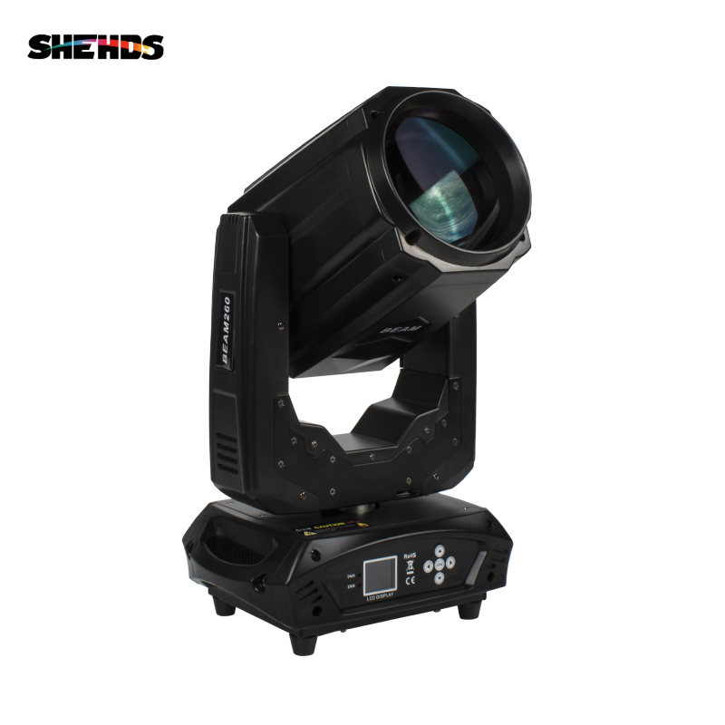 Fast Shipping LED  260W Beam Moving Head Light LED Lamp DMX Controller Lyre For Atmosphere Of Disco DJ Music Party Club