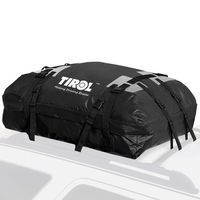 Waterproof Auto Top Carrier Cargo Bag Luggage Travel Bag 15 Cubic Feet For Vehicles with Roof Rails Car Accessories