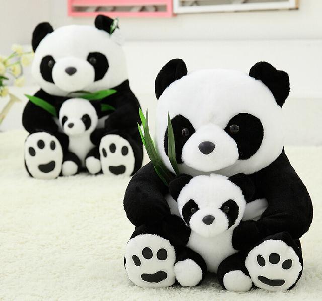Panda Plush Stuffed Pillows Kids Toy