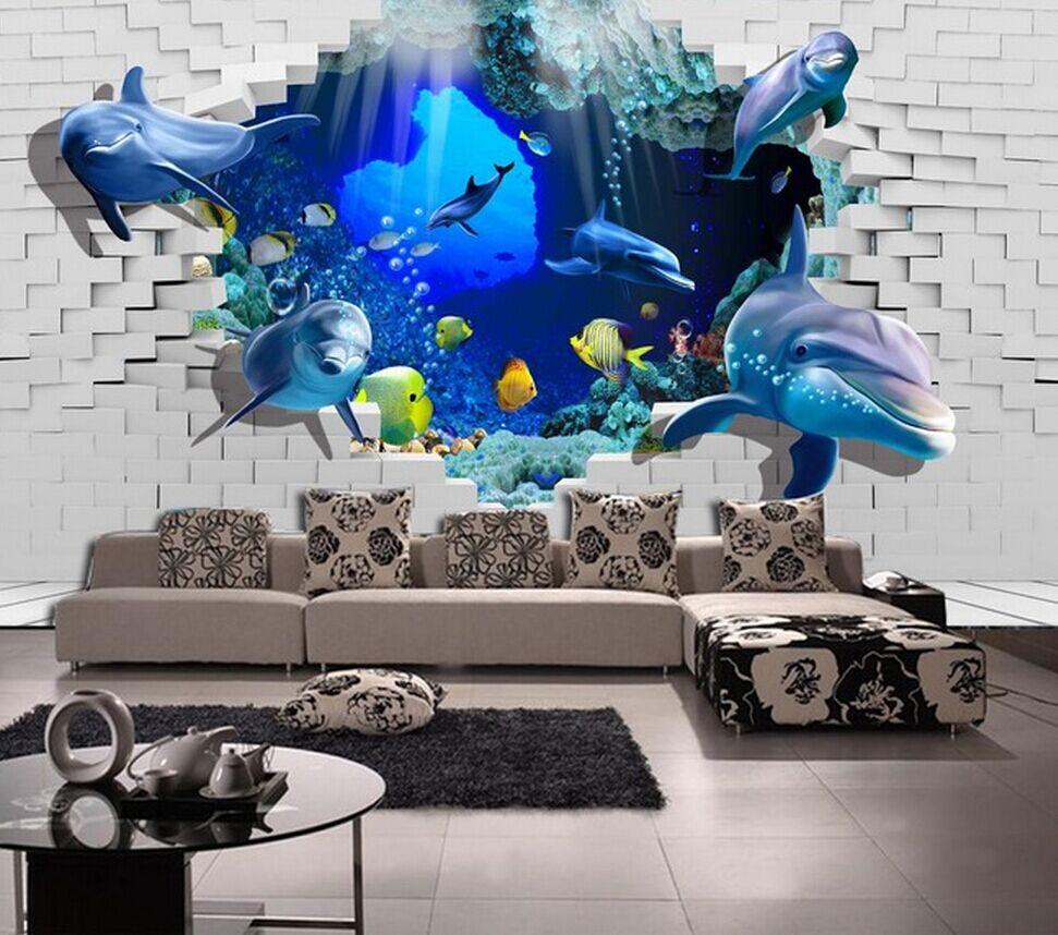 La nouvelle 3D monde sous - marin gratuite Poqiang peintures ...
