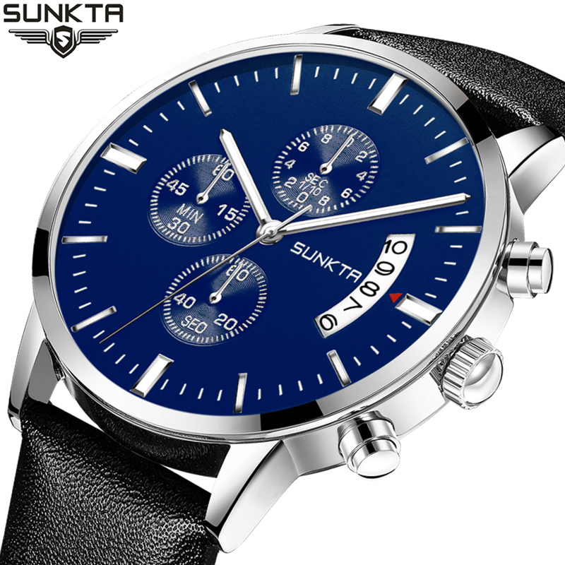 SUNKTA Men s font b Watches b font Top Brand Luxury Men s font b Military