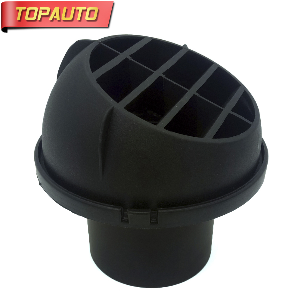 TopAuto 60 75 90mm Outlet Plastic Net Cover Of Exhaust Pipe For Car Air Diesel Parking Heater For Webasto For Truck Bus Caravan