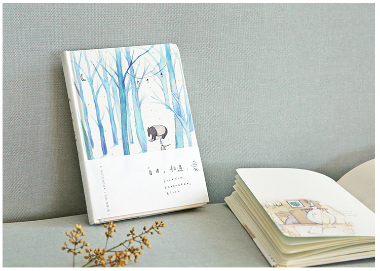 Ymlp Free Meet Love Series Notebook Full Color Illustrations